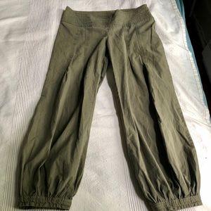 Khaki boho pants